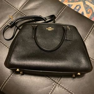 Coach Sage Carryall Satchel in Black